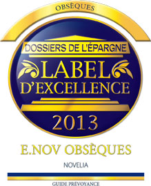 label excellence obseques 2013