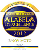 label excellence moto 2012 2013